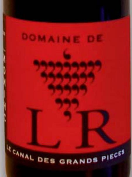 Rouge, Chinon, Domaine de l'R, Canal des Grandes Pieces