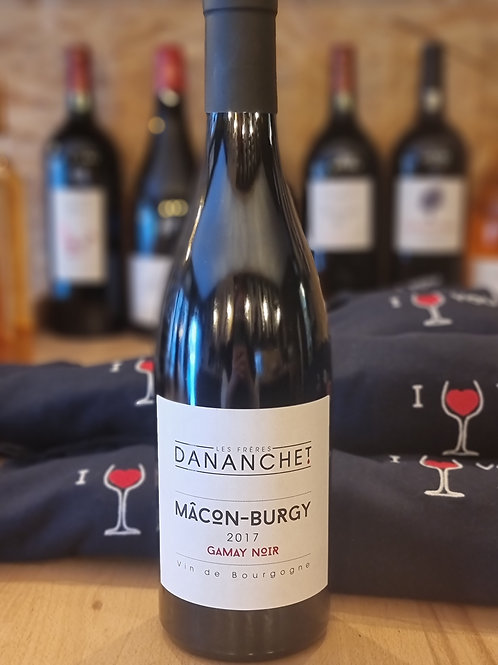 Rouge, Bourgogne, Macon Burgy, Frères Dananchet