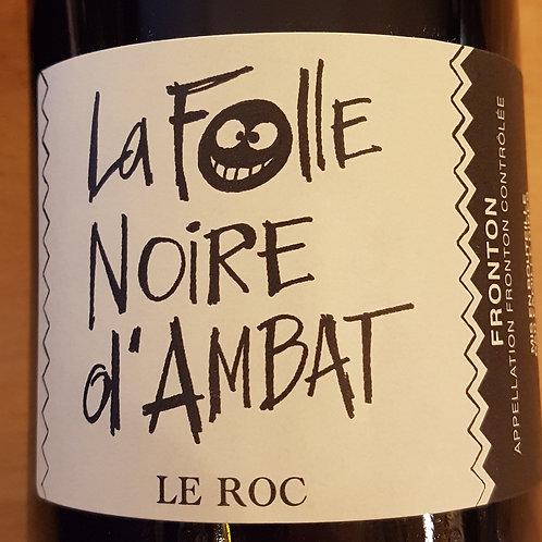 Rouge, Fronton, Domaine Le Roc, La folle noire d'ambat