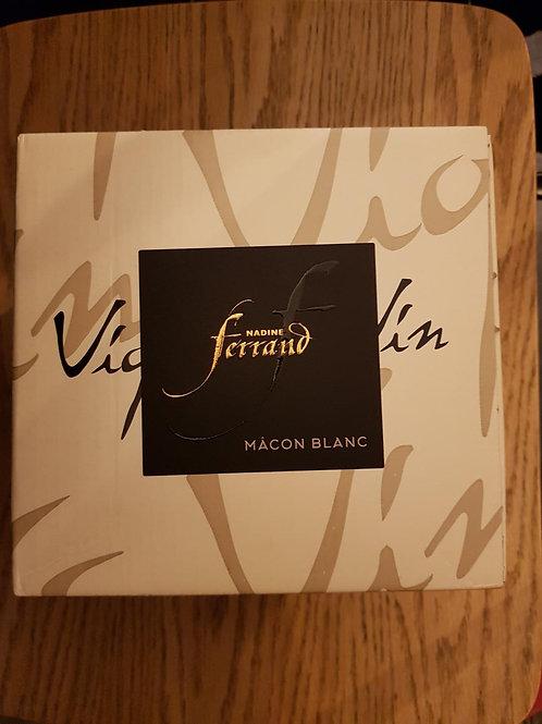 Blanc, BIB 3L Macon, Nadine Ferrand