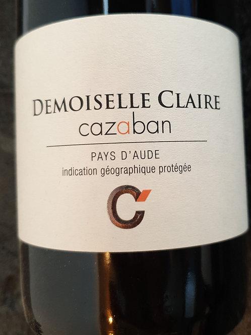 Rouge, Cabardès, Domaine de Cazaban, Demoiselle Claire