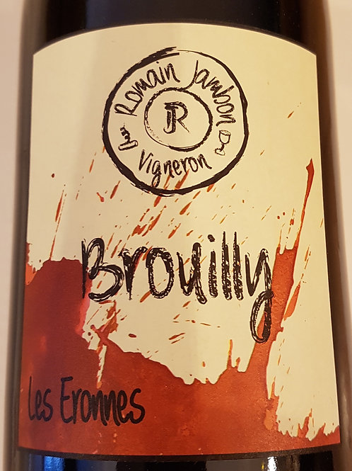 Rouge, Brouilly, Romain Jambon,Les Eronnes