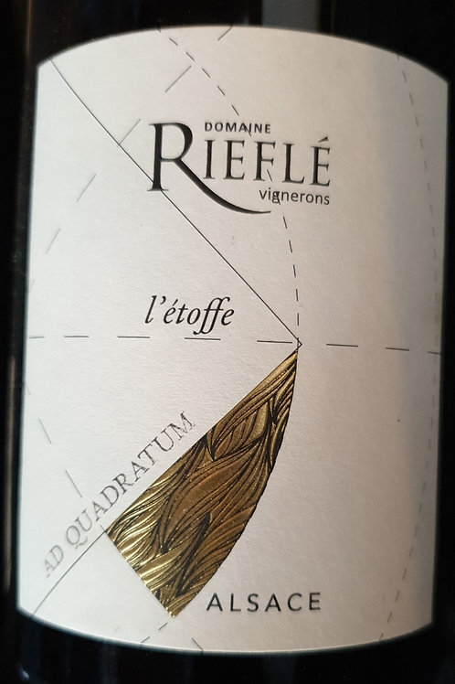 Rouge, Alsace, domaine Riefle, Etoffe