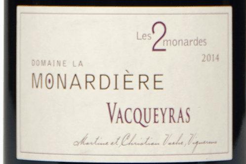 Rouge, Vacqueyras, La Monardière, Les 2 monardes