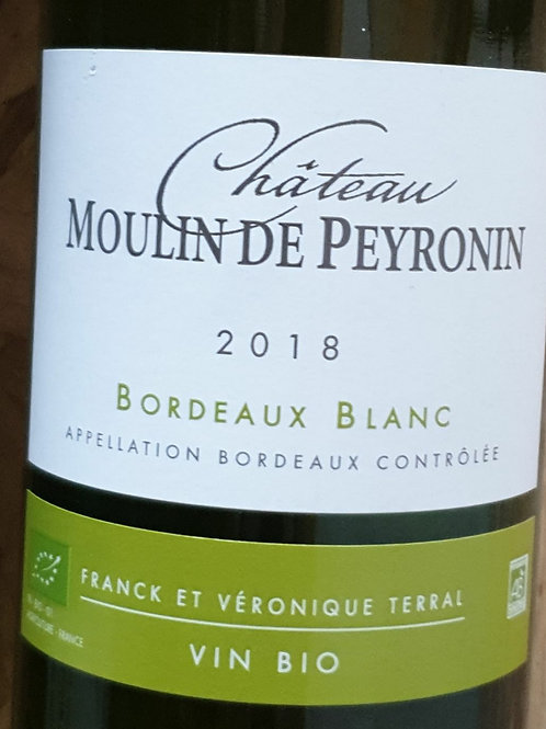 Blanc, Bordeaux, Château Peyronin