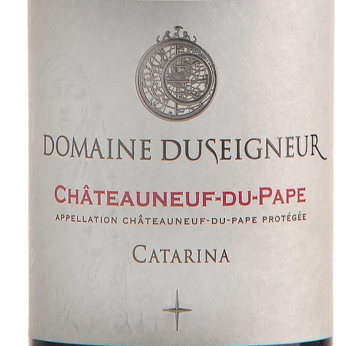 Rouge, Chateauneuf du Pape, Domaine Duseigneur, Catarina