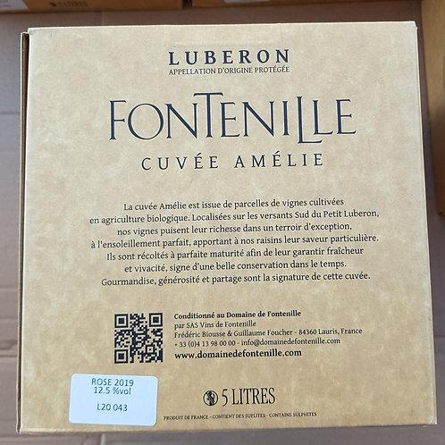 ROSE, Domaine Fontenille, Luberon, BIB 5 L