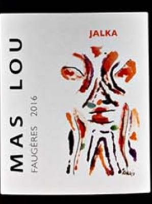 Rouge, Faugères, Mas Lou, Jalka (Cinsault)