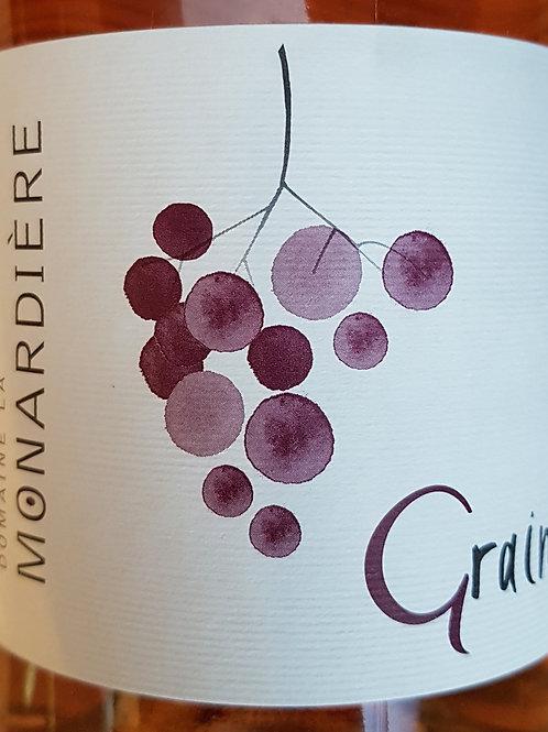 ROSE, La Monardiere, Grain de rosé (Zone Vacqueyras)
