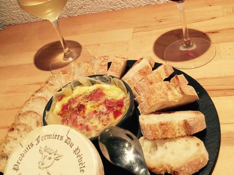 Camembert au chorizo
