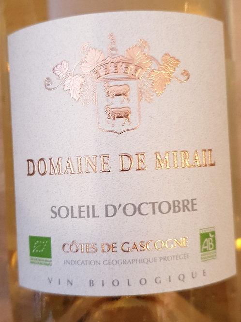 Blanc, Domaine de Mirail, Côtes de Gascogne moelleux
