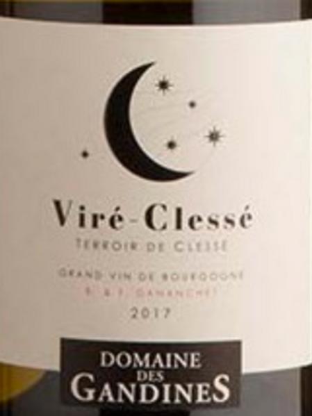 Blanc, Bourgogne, Vire Clesse, Domaine des Gandines, Terroir de Clesse
