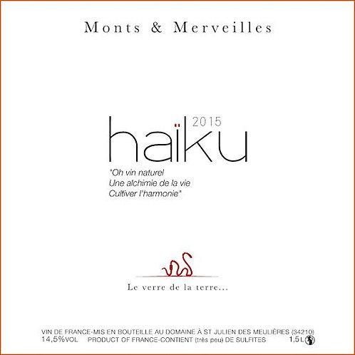 Rouge, Minervois, Monts et Merveilles, Haiku