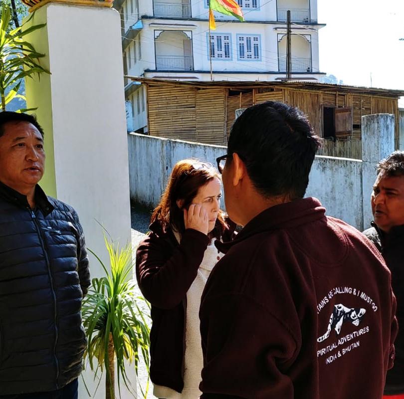 Meeting Locals in Sikkim