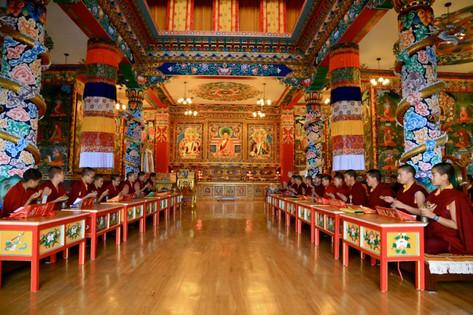 Temple at DGL Nunnery