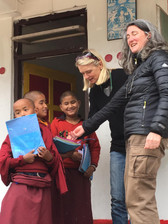 Meeting local monks