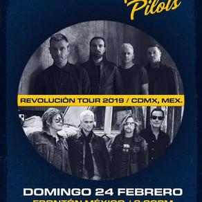 Stone Temple Pilots & Bush en CDMX pa' febrero.