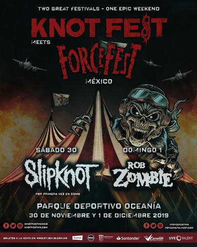 KNOTFEST MEETS FORCE FEST 2019 CARTEL UN
