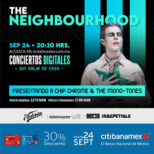 The Neighbourhood dará show IRREPETIBLE vía streaming