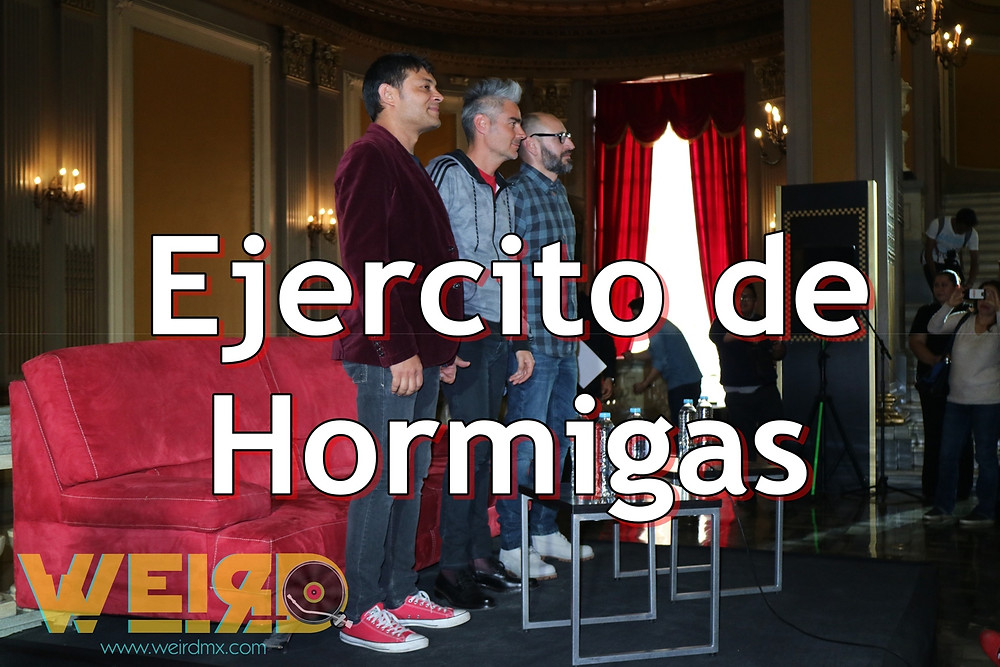 Haz click y escucha Ejercito de Hormigas