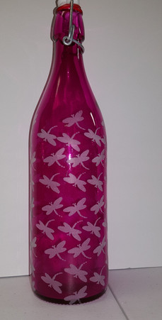 Pretty in Pink Dragonfly Drink