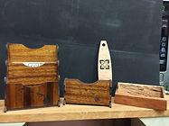 Hawaiian Wood Desk Supplies