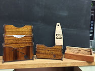 Hawaiian Wood Desk Supplies