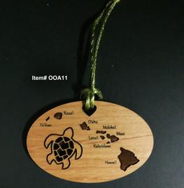 Honu of the Islands Ornament