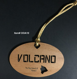 Volcano Ornament