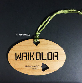 Waikoloa Ornament