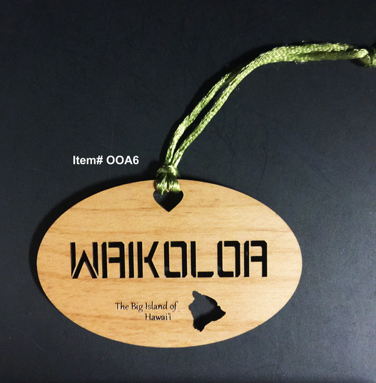 Waikoloa Ornament