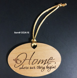 Home where our story begins Ornament