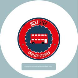 Logo para academia de inglés