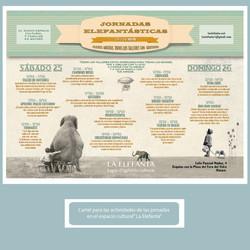 """Publicidad para """"La Elefanta"""""""