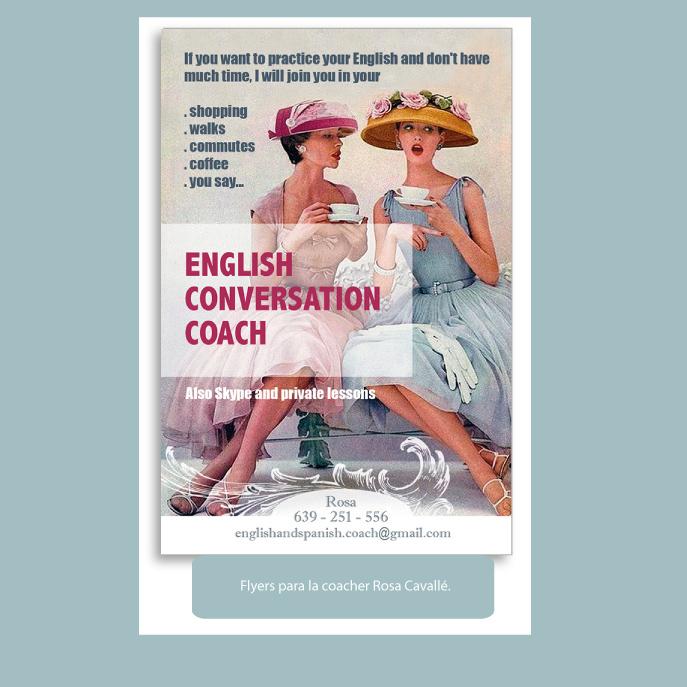 English conversation coach