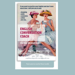 English conversation coach