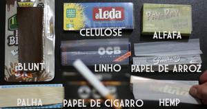 Tipos de materiais das Sedas