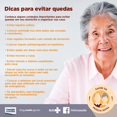 Envelhecer com saúde e segurança exige alguns cuidados simples.