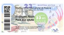 Meeting Roanne, 23 Septembre 2018 - TARIFS - Achat des billets en ligne