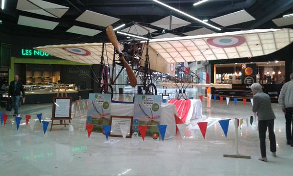 Meeting : J-11 Le Blériot XI en expo à AUCHAN VILLARS (42)