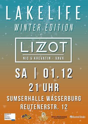 Lakelife Winter Edition 2018 Plakat