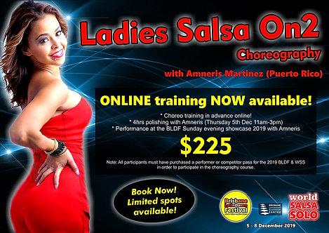 On2 Ladies Choreography (Amneris Martinez)