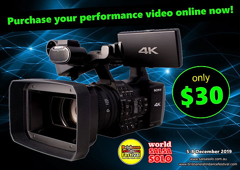 PURCHASE YOUR 2019 PERFORMANCE VIDEO