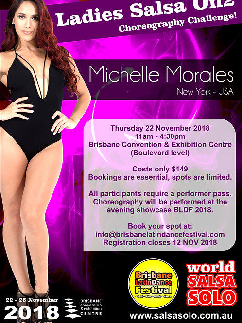 Ladies Styling Choreography Challenge with Michelle Morales (USA)