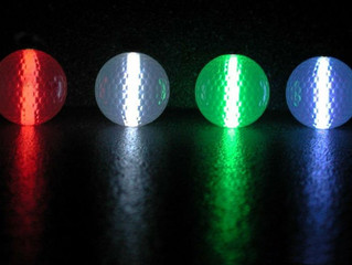 Day 11 of 30: Glow Golf!