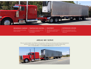 Website Overview: Keith Arteberry Trucking
