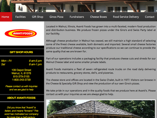 Day 27 of 30: Avanti Foods Website Before and After