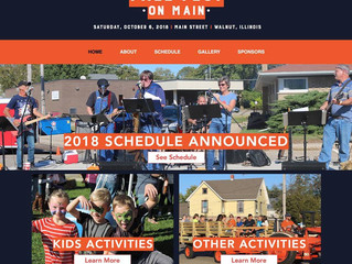 Website Overview: Fall Fest on Main