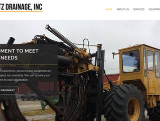 Website Overview: Dietz Drainage Inc.