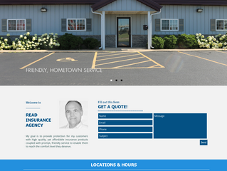Website Overview: Read Insurance Agency